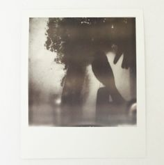"""Impossible (Polaroid) picture: """"Untitled V"""" by NoFaithVisuals One of a kind, B/W filmAged one month with Impossible dry age kit.Full price was 12 Euro, now on sale at 9 Euro"""