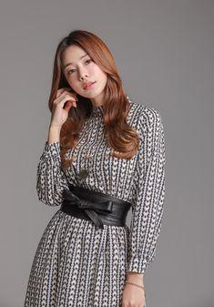 Korean Women`s Fashion Shopping Mall, Styleonme. Knit Vest Pattern, Korean Women, Dress Patterns, Korean Fashion, Asian Girl, Winter Outfits, Knitwear, Korean Style, Yuri