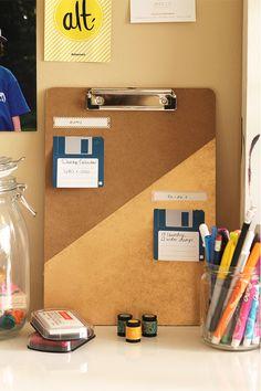 #DIY // organization station   #howto #organizers