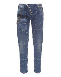 SUPERTISSIMO: Jeans avec des panneaux courbes