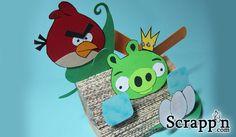 Craft: Angry Birds 3D Display