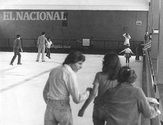 Pista de hielo en el Hotel Humboldt (ARCHIVO EL NACIONAL)