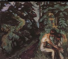 Edvard Munch Comfort
