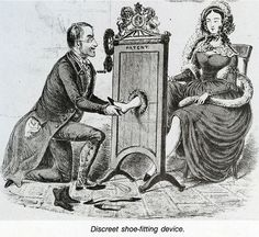 victorian shoe-fitting device
