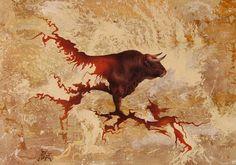 Tercio de Pinceles: realismo con surrealismo del pintor Toro Tribal (Socovós-Albacete)