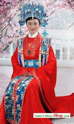 Traditional Chinese Wedding Garb