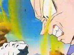 Vegeta gets angry and turns Super Saiyan
