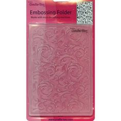Crafts-Too Crafts-Too Embossing Folder, Scrollwork's Craf…