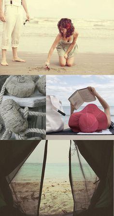 beach inspiration board