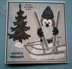 Maria's kaartjes: Kerst-uiltje