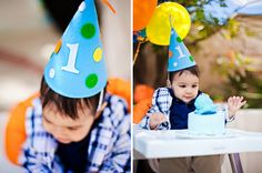 DIY this felt party hat for your little one.