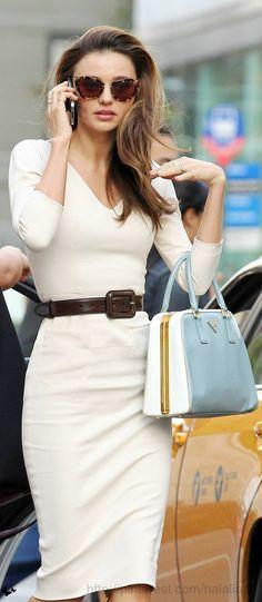 Miranda Kerr in VS dress
