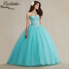 Find More Quinceanera Dresses Information about Sparkly Ball Gown Full Crystals Corset Puffy Tulle Masquerade 2016 Turquoise Quicneanera Dress for Girls 15 years,High Quality corset dress,China dress colors Suppliers, Cheap corset style prom dress from Custom-Made for You on Aliexpress.com