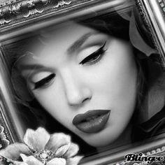 Vintage Black and White Portrait Picture #127855445 | Blingee.com