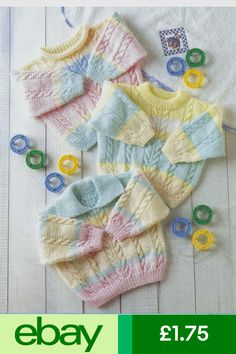 Baby knitting pattern chest DK Cable by by marisa Arm Knitting, Knitting For Kids, Double Knitting, Baby Knitting Patterns, Crochet For Kids, Baby Patterns, Knit Crochet, Crochet Patterns, Knit Baby Sweaters