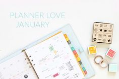 January in my Hello Forever Planner
