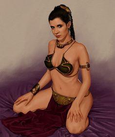 carrie fisher | 1000 ideias sobre Princess Leia Slave Costume no Pinterest | Princesa ...