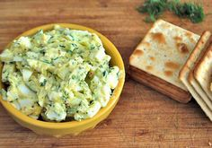 Save on lunch: Egg salad with zucchini by SavvyMom.ca | Golden Girl Finance