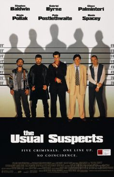 The Usual Suspects Style A1 Poster at AllPosters.com