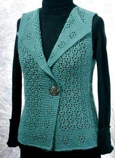 Fiddlesticks Knitting--Dorothy Siemens--Rosebud Vest