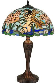 """Meyda 26.5""""H Fairy Pond Table Lamp"""