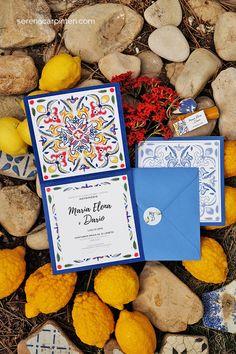 Wedding Cards, Our Wedding, Wedding Stationery, Wedding Invitations, Sicily Wedding, Lemon Party, Spanish Wedding, Handmade Wedding, Wedding Designs