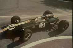 1964 Monaco GP, Monte Carlo : Jim Clark, Lotus-Climax 25 #12, Team Lotus, 4th. (ph: speedsportgallery.co.uk)