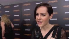 The Hunger Games Mockingjay Part 2 New York Premiere Interview - Jena Ma. Hunger Games Mockingjay, Mockingjay Part 2, Jena Malone, Johanna Mason, Catching Fire, Coming Out, Squad, Interview, Films