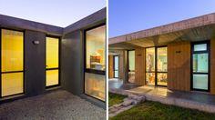 Atelier Gael, Arquitectura contemporánea. Estudio Moirë arqs. Garage Doors, Outdoor Decor, Home Decor, Mar Del Plata, Contemporary Architecture, Architects, Studio, Colors, Houses