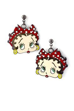 Betty Boop Heart Earrings / AZERFHB03-GML Arras Creations http://www.amazon.com/dp/B00I022LUC/ref=cm_sw_r_pi_dp_Q3lBvb10P4K7D