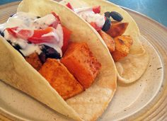 Chipotle Sweet Potato Tacos | recipe from Making Life Sweet