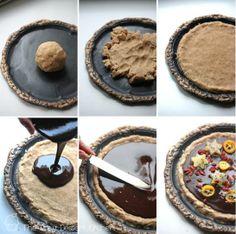 Nut Free Dessert Pizza | The Raw Dessert Kitchen