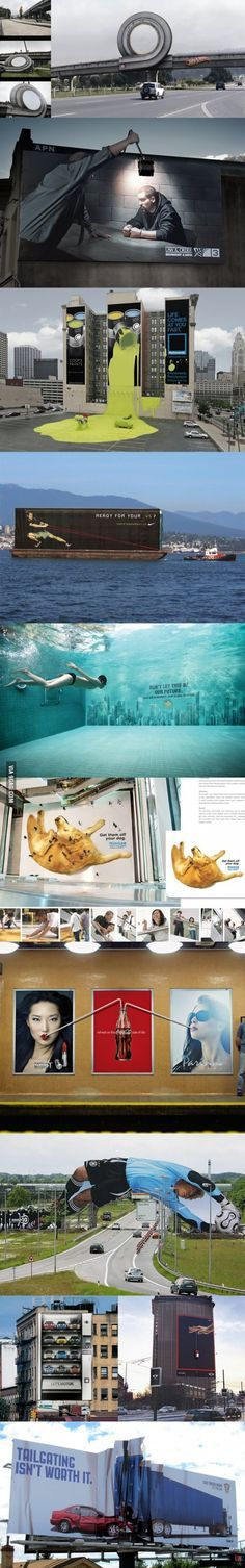 outdoor #billboards from around the world. #ambient #advertising http://arcreactions.com/