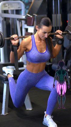 Fitness Workouts, Leg Day Workouts, Gym Workout Videos, Gym Workout For Beginners, Fitness Workout For Women, Butt Workout, Bora Malhar, Shoulder Workout, Fitness Inspiration