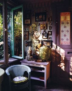 Bohemian Pages: Boho Interiors...