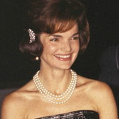 "Jacqueline Kennedy Onassis (née Jacqueline Lee ""Jackie"" Bouvier;  July 28, 1929 – May 19, 1994) was the wife of the 35th President of the United States, John F. Kennedy, and First Lady of the United States during his presidency from 1961 until his assassination in 1963.♛❤✾❤✾❤❁❤❃❤❁❤ ♛ http://en.wikipedia.org/wiki/Jacqueline_Kennedy_Onassis"