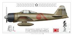 A6M2 Zero Saburo Sakai July 1942