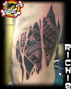 This awesome tattoo is enough to get you geared up for your next tattoo! Done by Richie!