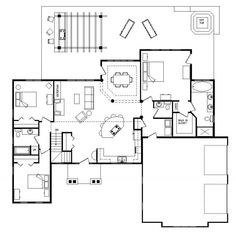 1000 Images About Split Level Floor Plans On Pinterest Floor Plans Bedrooms And Simple