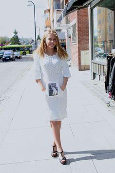 Nydelig kjole med lomme fra Spicy Vanilla