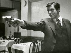 Al Pacino as Michael Corleone. The Godfather, 1972