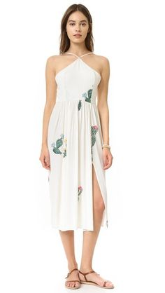 Wildfox Cactus Flower Back Tie Dress $167