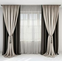 rown and beige curtains Roman blind and window .,rown and beige curtains Roman blind and window Curtain monitor or curtain pole? The most common types of fastening for c. Roman Curtains, Beige Curtains, Luxury Curtains, Cool Curtains, Modern Curtains, Curtains With Blinds, Hanging Curtains, Roman Blinds, Home Decor