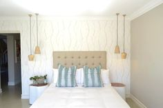 Contemporary Interior Design - Johannesburg Interior Designers - Nowadays Interiors - Wood - Blue - Tranquil Contemporary Interior Design, Decoration, Eagle, Designers, Interiors, Bed, House, Furniture, Home Decor