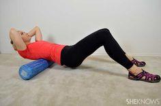 Foam roller exercise moves
