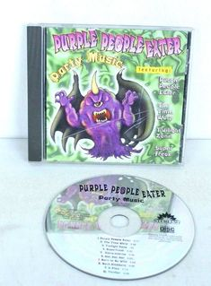 Purple People Eater Party Music Audio CD Spooky Halloween Music #Halloween