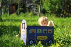 Apfelbäckchen : Ein Hippiebus fürs Apfelbäckchen von MOMOKI & Verlosung