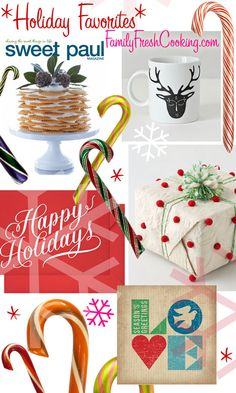 Fabulous Festive Finds | Christmas and Holiday Inspiration on FamilyFreshCooking.com