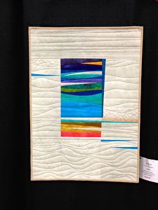 Beautiful Quilt Show in Kalamazoo, MI | EXPLORATION seaside by jackie skarritt