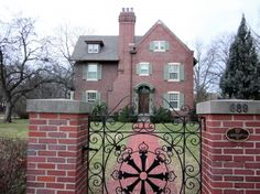 """Old Walkerville, Windsor, Ontario -  January 1, 2011. My favourite house! I call it the """"Little Women"""" house!"""
